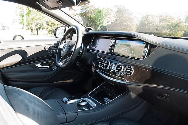 Flota Class Taxi Bilbao - Parte delantera interior Clase S largo AMG Class Taxi Mercedes Bilbao