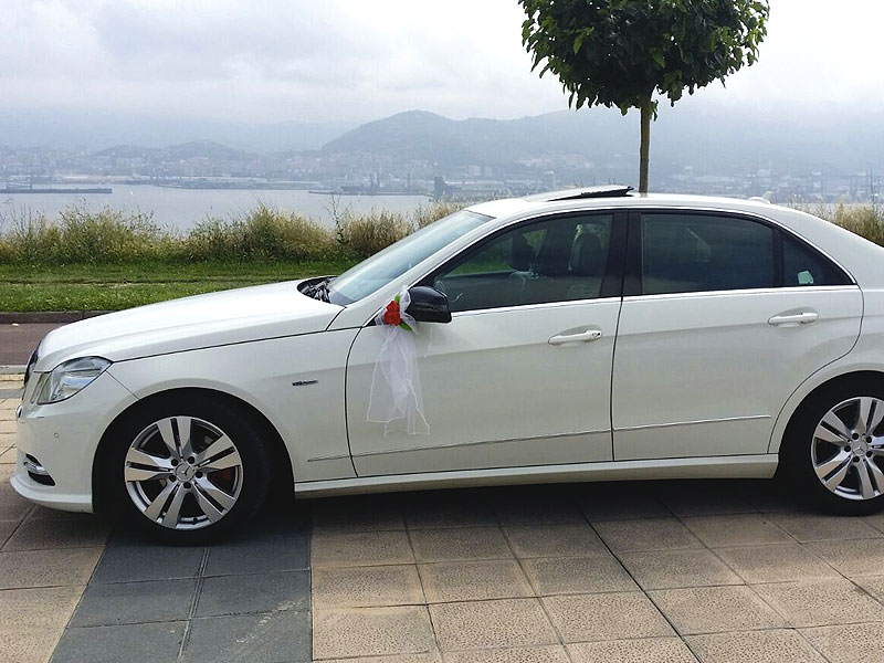 Vehículos Mercedes para Bodas en Bilbao