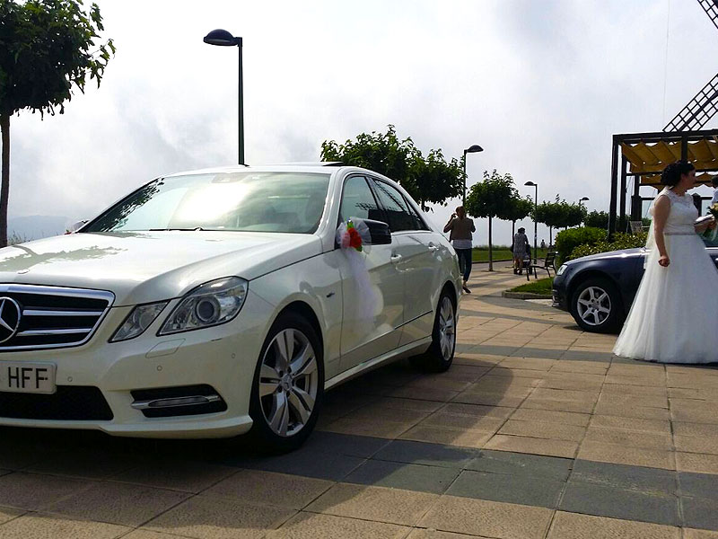Alquiler de vehículos Mercedes para Bodas