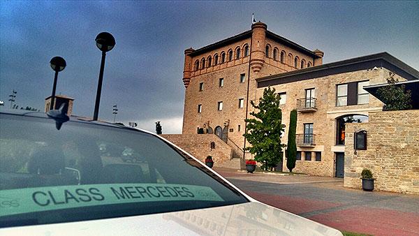 Alquiler de vehículos Mercedes para Eventos empresariales